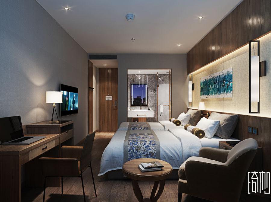 成都和喧酒店房间图1