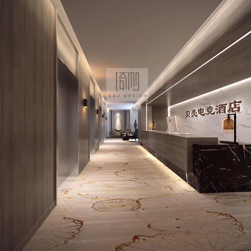 贝壳电竞酒店吧台设计图