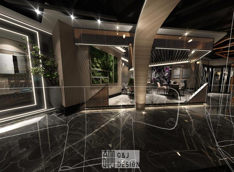 重庆新干线网咖休闲区装修效果图