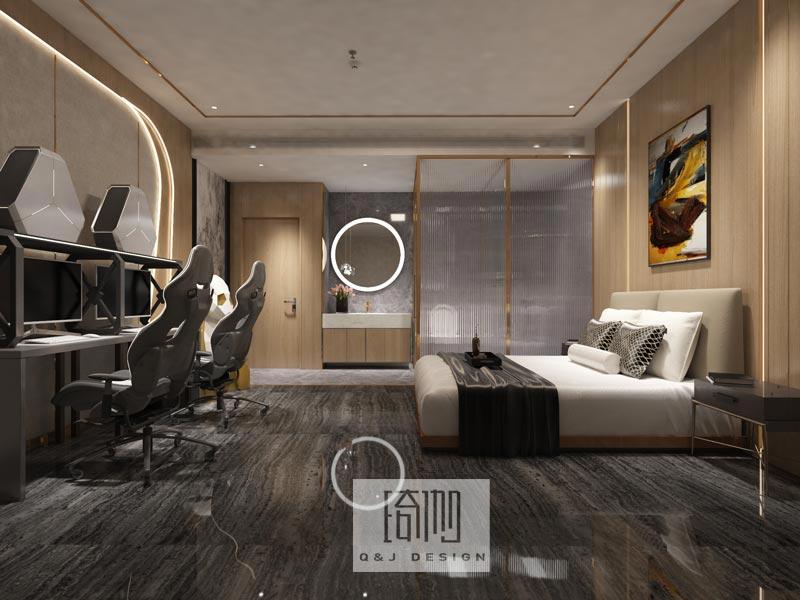 大咖电竞酒店设计图3